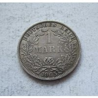 Германия 1 марка 1905 A (Берлин) 2