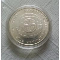 10 евро 2006 г. Чемпионат мира по футболу 2006. Германия. Серебро 925 проба