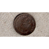 Ирландия 1 фартинг 1806 Георг 3(Oct)