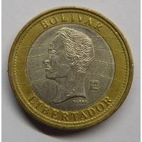 Венесуэла 1 боливар 2007 г