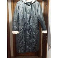 Пальто демисезонное с капюшоном QIONGYU