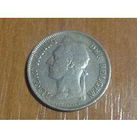Конго Бельгийское 50 сантим 1929г