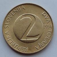Словения 2 толара. 1994