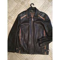 Стильная кожаная куртка, 50-52 размера