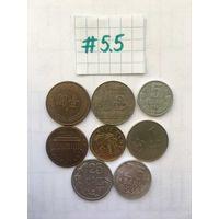 Сборный лот #5.5 с экзотикой, без СССР и СНГ
