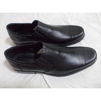Туфли мужские 45С размер. Кожа.