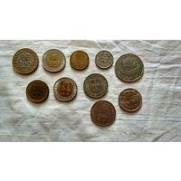 Сборный лот монет португалии. С рубля