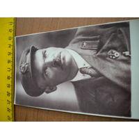 Перефотка железнодорожника СВ, знак за стрельбу и кокарда, копия
