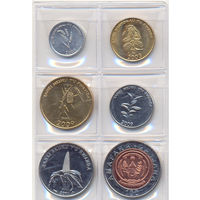 Руанда комплект монет 2003-2011гг. скидки.