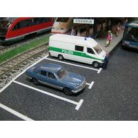 Модель автомобиля Mercedes-Benz 500 Fleischmann.Масштаб НО-1:87.