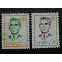 Иран 1971г. Шах Мохаммед Реза Пехлеви.