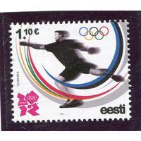 Эстония. Летние олимпийские игры в Лондоне 2012