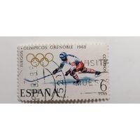 Испания 1968. Зимние Олимпийские игры - Гренобль, Франция