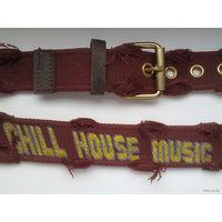 Ремень CHILL HOUSE MUSIC