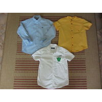 Рубашки для мальчика, рост 104-116