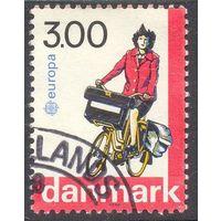 Дания Европа-Септ почта велосипед