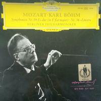 Mozart/Symphonie 39+36/1969, DG, LP, Germany
