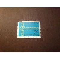 Лихтенштейн 1971 г.  Europa (C.E.P.T.) .Цепь.