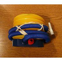 Насос ножной для фитболов и надувных мячей Protrain AP-45.