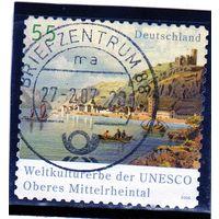 Германия. Ми-2537. Долина Рейн (Всемирное наследие 2002 года). Серия: Объекты Всемирного наследия ЮНЕСКО. 2006.