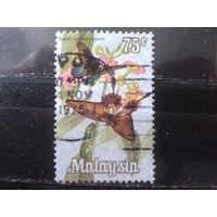 Малайзия 1970 Бабочки