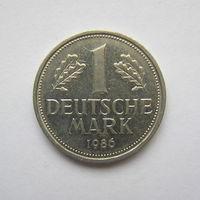 1 марка Германия 1986 D (ФРГ).