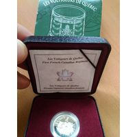 KM# 400 5 CENTS 2000 Proof  First French-Canadian Regiment