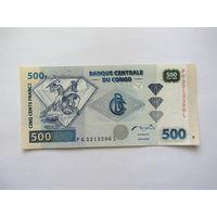 Конго, 500 франков.