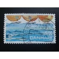 Дания 1992 косяк рыбы