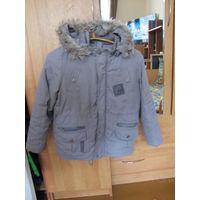 Куртка зимняя на мальчика, рост 128