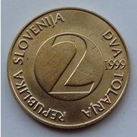 Словения 2 толара. 1999