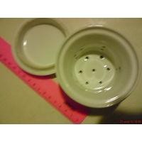 Крышка с заварником для чая