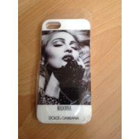 Чехол для iphone 5-5S. Мадонна. Новый, можно в подарок