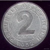 2 грошена 1952 год Австрия