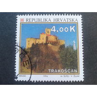 Хорватия 1994 стандарт, туризм, замок