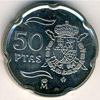 Испания 50 песет 1998, 2000