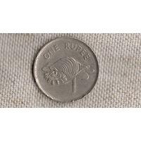 Сейшельские острова Сейшелы 1 рупия 1982/фауна/(NS)