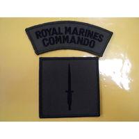 Шеврон морской пехоты миротворческих сил Великобритании