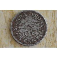 Сьерра-Леоне 5 центов 1964