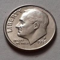 10 центов (дайм) США 1993 Р