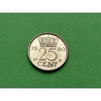 25 центов 1980 года