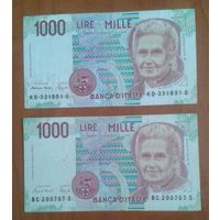 1000 лир ИТАЛИЯ
