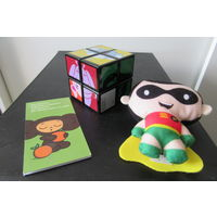 Ишрушки: Кубик Рубика 2х2, Робин помощник Бэтмана, Закладка магнитная