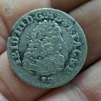 6 грошей 1698 г редкая