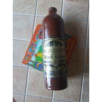 Бутылка коллекционная  Рижского бальзама СССР, 40 лет не вскрывалась