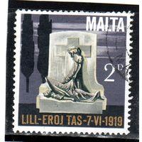 Мальта. Mi:MT 393. Памятник 1919 года Серия: 5-я годовщина независимости. 1969.