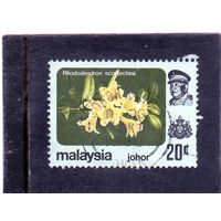Малайзия. Джохор. Mi:MY-JO 173X. Цветы - Rhododendron scortechinii