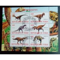 Чад 2010 Фауна Дикий мир Динозавры.