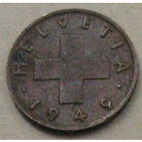 Швейцария, 1 раппен 1949