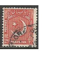 Пакистан. Национальный герб. 1949г. Mi#49.